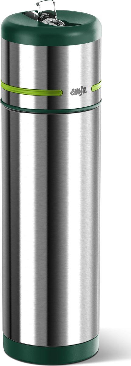 Термос-фляга Emsa Mobility, цвет: зеленый, 0,5 л512963Вакуумный термос-фляга Emsa Mobility имеет современный дизайн и 100% герметичен. Имеет двустенную вакуумную колбу из нержавеющей стали и встроенный дозатор.
