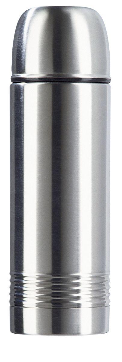 Термос Emsa Senator, цвет: серый, 0,5 л115610Классическая и гармоничная форма термоса Emsa Senator удовлетворит желания любого потребителя. Термос оснащен герметичным клапаном и крышкой, которую можно использовать в качестве стакана, а благодаря высококачественной двустенной вакуумной колбе из нержавеющей стали и вакуумной изоляции он сохранит ваши напитки горячими до12 часов, а холодными - до 24.Термос имеют элегантное оформление из нержавеющей стали.Пробка Safe Loc обеспечивает 100 % герметичность, а также не даст вам забыть закрыть свой термос после использования. Вакуумная чашка также не даст напитку остыть быстрее, чем нужно. Термос, чашу и пробку можно мыть в посудомоечной машине.