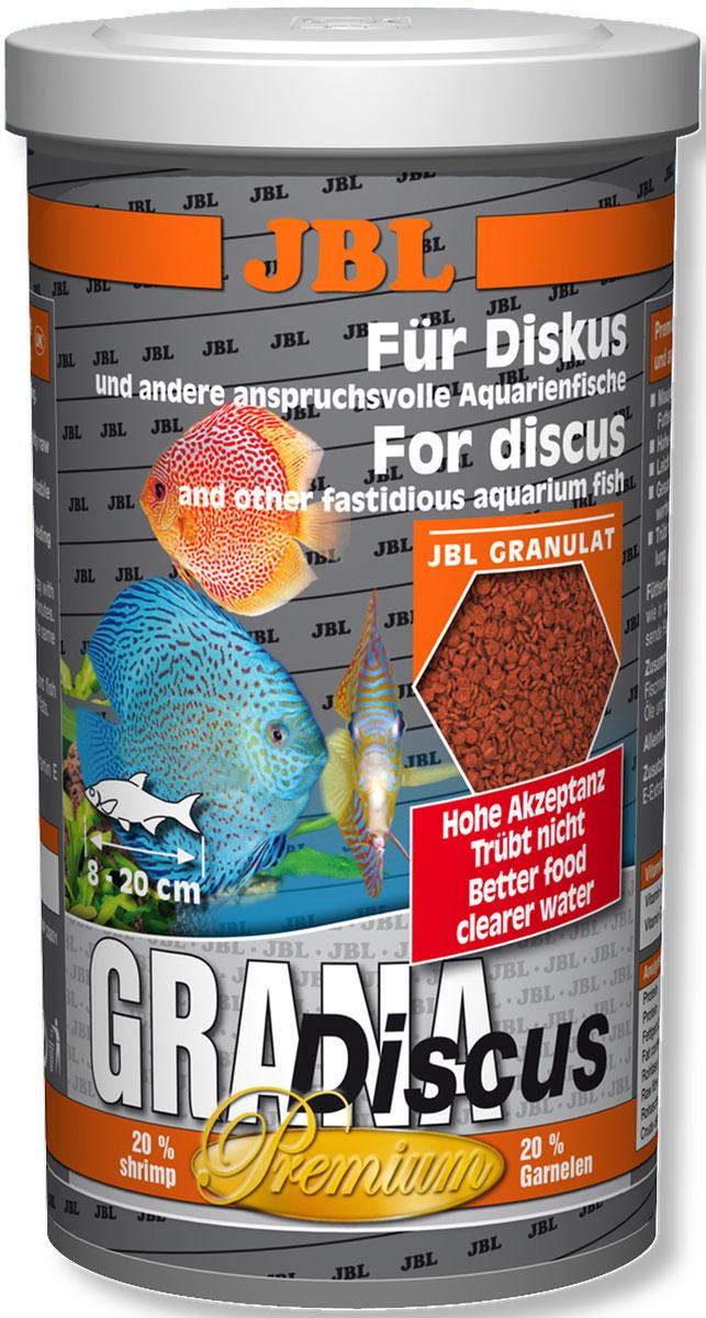 JBL Grana-Discus Основной корм класса премиум в форме гранул для дискусов, 250 мл (110 г)JBL4052000JBL Grana-Discus - Основной корм класса премиум в форме гранул для дискусов, 250 мл. (110 г.)