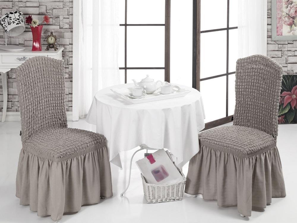 Набор чехлов для стульев Karna, 2 шт. 1906/CHAR0011906/CHAR001