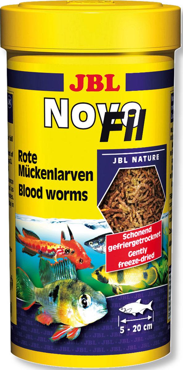 JBL NovoFil Личинки красного комара, высушенные по технологии вакуумной заморозки, 250 мл (20 г)JBL3027000JBL NovoFil - Личинки красного комара, высушенные по технологии вакуумной заморозки, 250 мл. (20 г.)