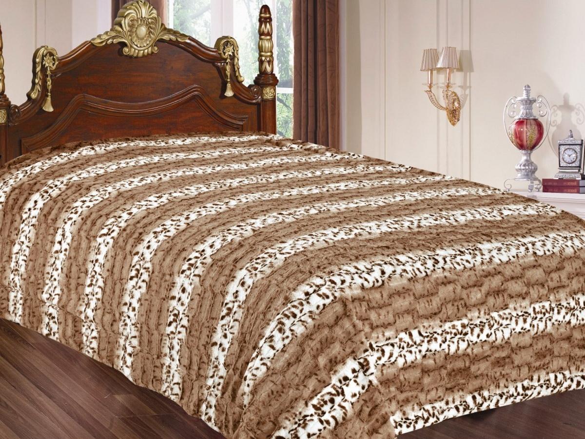 Покрывало Cleo Леопард, цвет: коричневый, 220 x 240 см210/02-TZКрасивые, яркие, легкие и в меру объемные покрывала - они становятся настоящим украшением, завершающим штрихом интерьера, который преображает помещение, делая его уютным и комфортным. Состав этой коллекции - искусственный мех (акрил). Покрывало универсально в использовании. Такое покрывало прослужит много лет, радуя вас и ваших близких изначальной яркостью своих красок.