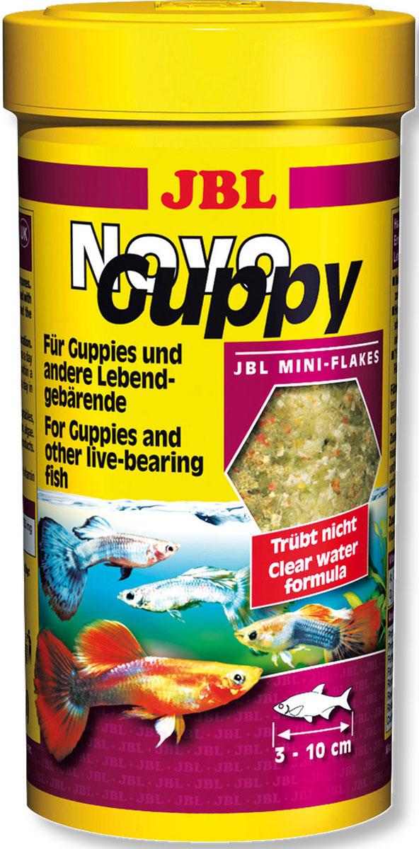JBL NovoGuppy Основной корм для гуппи и других живородящих, 250 мл0120710JBL NovoGuppy - Основной корм для гуппи и других живородящих, 250 мл.