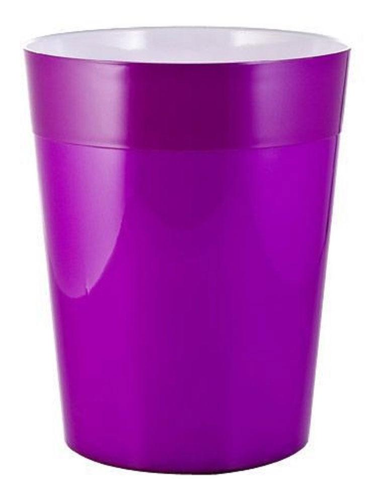 Ведро мусорное Ridder Neon, цвет: фиолетовый, 5 л22020613Высококачественные немецкие аксессуары для ванных комнат. Данная серия изготавливается из акрилового стекла. Изделия серии Neon устойчивы к ультрафиолету и мытью в посудомоечной машине. Объем: 5 л.