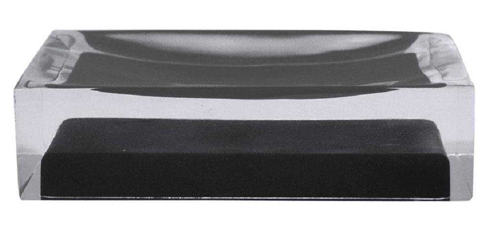 Мыльница Ridder Colours, цвет: черный22280310Изделия данной серии устойчивы к ультрафиолету, т.к. изготавливаются из добротной полирезины. Экологичная полирезина - это твердый многокомпонентный материал на основе синтетической смолы, с добавлением каменной крошки и красящих пигментов.