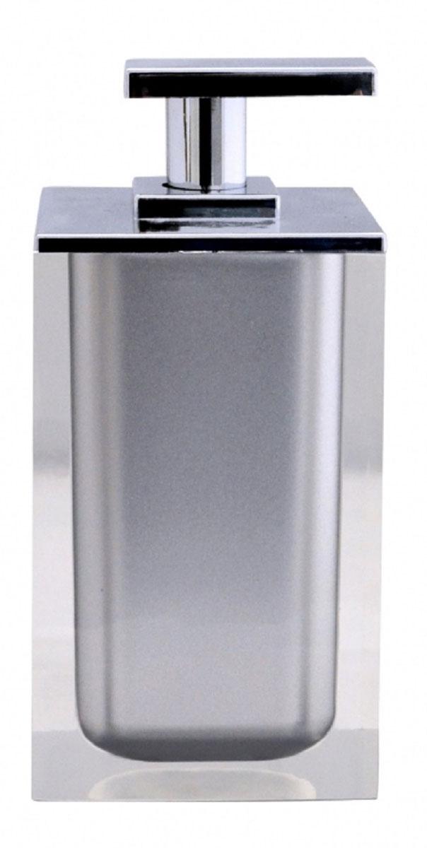 Дозатор для жидкого мыла Ridder Colours, цвет: серый, 300 мл22280507Дозатор для жидкого мыла Ridder Colours, изготовленный из экологичной полирезины, отлично подойдет для вашей ванной комнаты. Такой аксессуар очень удобен в использовании, достаточно лишь перелить жидкое мыло в дозатор, а когда необходимо использование мыла, легким нажатием выдавить нужное количество. Дозатор для жидкого мыла Ridder Colours создаст особую атмосферу уюта и максимального комфорта в ванной. Объем дозатора: 300 мл.