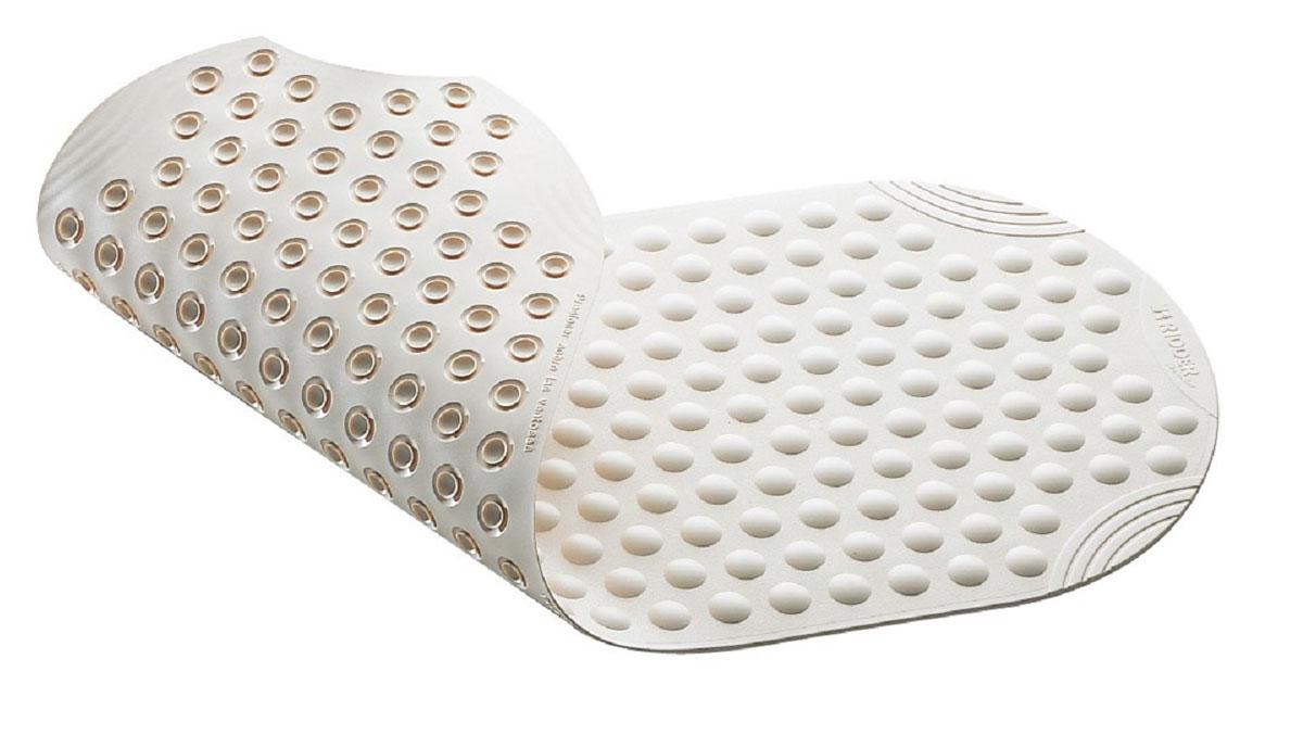 Коврик для ванной Ridder Tecno+, противоскользящий, цвет: белый, 38 х 89 см19201Высококачественные немецкие коврики Ridder Tecno+ созданы для вашего удобства. Состав и свойства противоскользящих ковриков: - синтетический каучук с защитой от плесени и грибка, - не содержит ПВХ. Имеются присоски для крепления. Безопасность изделия соответствует стандартам LGA (Германия).