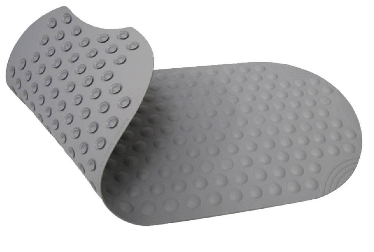 Коврик для ванной Ridder Tecno+, противоскользящий, цвет: серый, 38 х 89 смА6800107Высококачественные немецкие коврики Tecno+ созданы для вашего удобства. Состав и свойства противоскользящих ковриков: синтетический каучук с защитой от плесени и грибка, не содержит ПВХ. Имеются присоски для крепления. Безопасность изделия соответствует стандартам LGA (Германия).