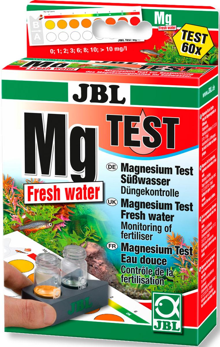 Тест на магний JBL Magnesium Test-Set Mg Freshwater0120710Тест JBL Magnesium Test-Set Mg Freshwater предназначен для определения содержания магния в пресной воде. Применяется при проблемах с ростом растений и контроля внесения удобрений. Простой и надежный контроль параметров воды для аквариума. Правильный химический состав воды в аквариуме зависит от популяции рыб и растений. Даже если вода прозрачная, она может быть заражена. При плохих параметрах воды в аквариуме появляются болезни или водоросли. Для здорового аквариума с природными условиями важно регулярно проверять и корректировать параметры воды. Магний вместе с кальцием образует общую жесткость. Магний в дополнение к калию - один из макроэлементов, который необходим растениям для здорового и активного роста. В водопроводной воде магния для водных растений часто слишком мало, поэтому быстро появляются симптомы дефицита. Несмотря на регулярное внесение удобрений в аквариум магния может не хватать, и темпы роста растений снизятся. Лабораторная компараторная система учитывает цвет воды: наберите в кювету пробу воды, добавьте реагенты, поместите кюветы в держатель, посмотрите показания по цветовой шкале. Экспресс-тест Mg Magnesium Test Freshwater рассчитан примерно на 60 измерений. В комплекте 3 реагента, 2 стеклянные кюветы с крышками, шприц, компараторный блок и цветовая шкала. Реагенты также продаются отдельно. Проверяйте воду в аквариуме для поддержания здоровья и чистоты.