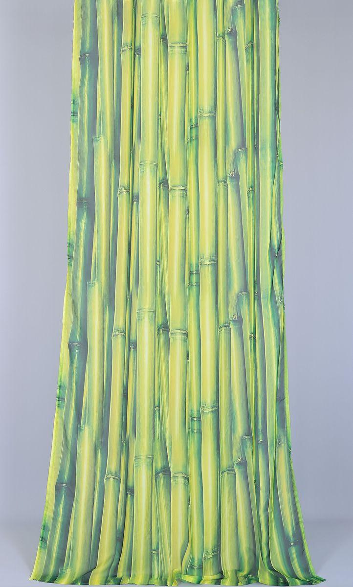 Тюль Garden Li-Bamboo, на ленте, высота 270 см59911_ЛЕНТАТюль Garden Li-Bamboo изготовлен из 100% полиэстера. Воздушная ткань привлечет к себе внимание и идеально оформит интерьер любого помещения. Полиэстер - вид ткани, состоящий из полиэфирных волокон. Ткани из полиэстера легкие, прочные и износостойкие. Такие изделия не требуют специального ухода, не пылятся и почти не мнутся. Крепление к карнизу осуществляется при помощи вшитой шторной ленты.