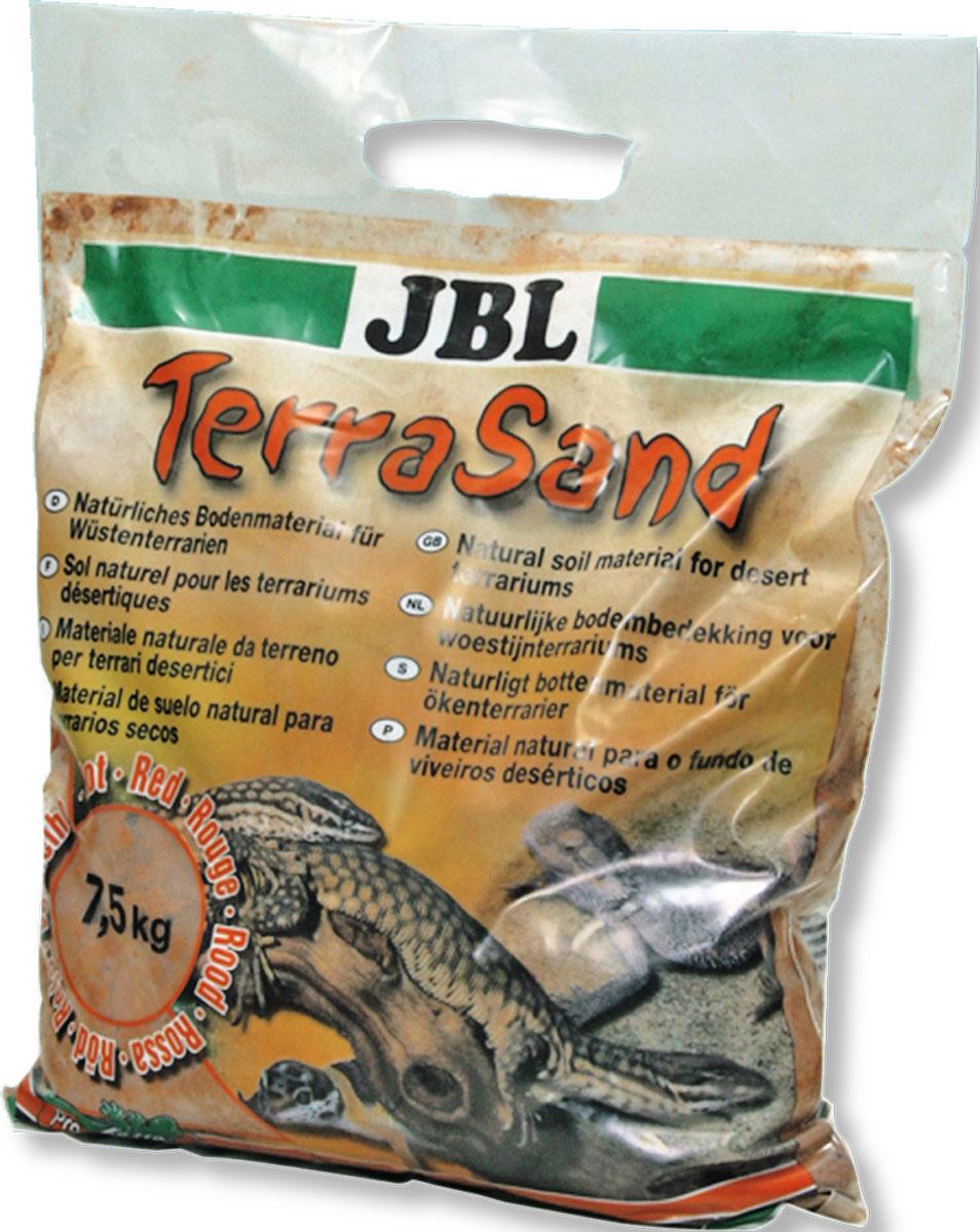 Донный грунт JBL TerraSand для сухих террариумов, цвет: натуральный красный, 5 лJBL7101700JBL TerraSand natur-rot - Донный грунт для сухих террариумов, цвет натуральный красный, 5 л.