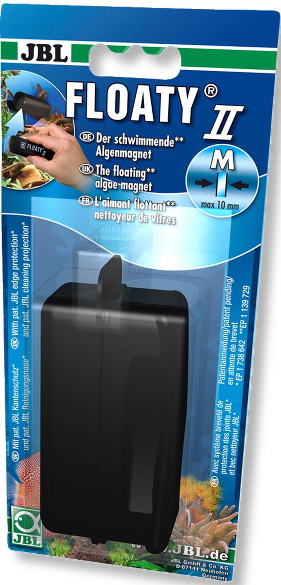 Плавающий магнитный скребок JBL Floaty M для стекол толщиной до 10 ммJBL6137700JBL Floaty M - Плавающий магнитный скребок для стекол толщиной до 10 мм.