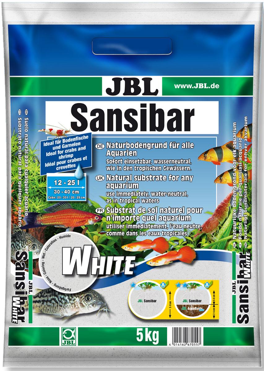 Грунт декоративный для аквариума JBL Sansibar, мелкий, цвет: белый, 5 кг0120710Грунт декоративный JBL Sansibar предназначен для пресноводных и морских аквариумов, а также террариумов. Прекрасно подходит для корней растений и обеспечивает их активный рост: ил и другие отходы не будут просачиваться внутрь благодаря мелкому зерну и плотной засыпке. Грунт безопасен для рыб, беспозвоночных и растений, так как не выделяет нежелательных загрязняющих веществ в воду. Мелкий округлый гранитный песок защищает чувствительные усики донных рыб. Грунт - важная часть аквариума, так как многие обитатели копают его и ищут там корм. Растениям тоже нужно надежно удержаться в грунте и получать питание через корни. Роющим рыбам абсолютно необходим грунт с округлыми частицами. Применение: Промойте грунт водопроводной водой, чтобы удалить мусор, образовавшийся при транспортировке. Положите грунт на питательную подложку (JBL AquaBasis), чтобы корни лучше росли (для усиления роста растений - слой около 6-8 см). Не подходит для грунтового нагревателя.Зерно: 0,2-0,6 мм.