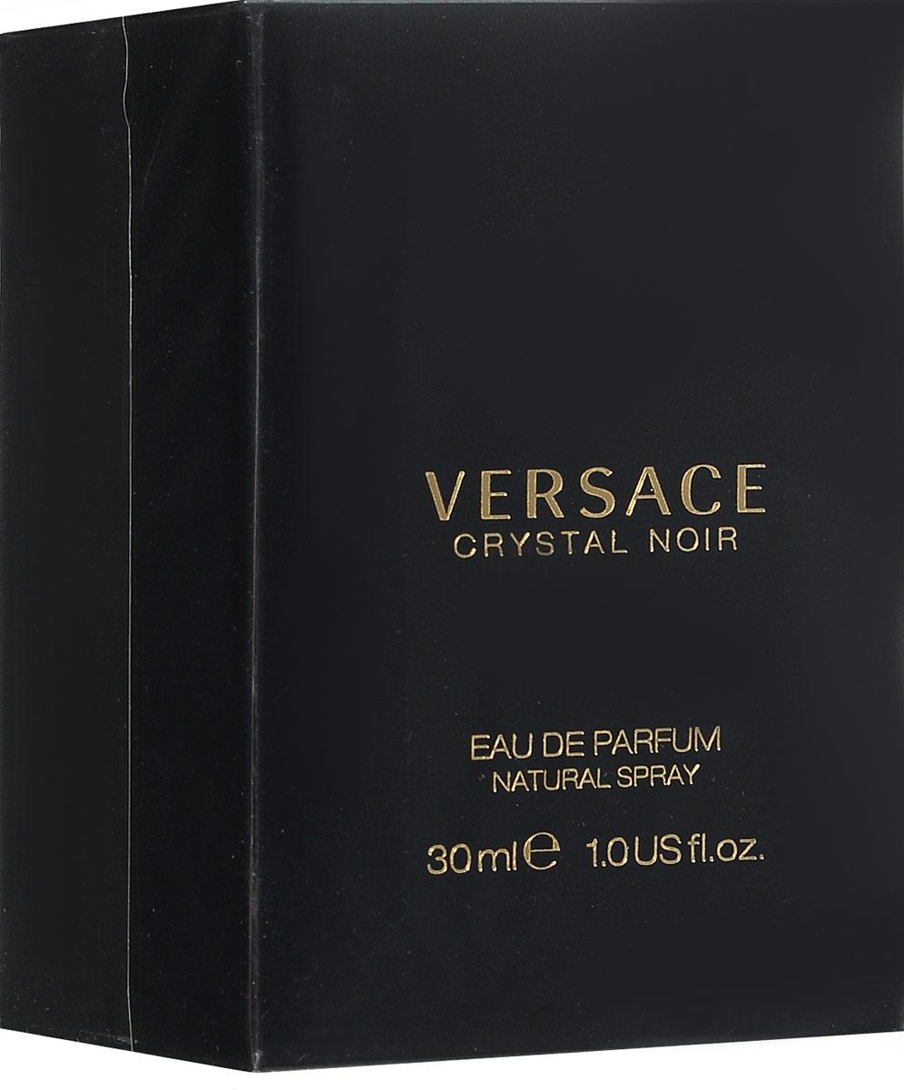 Versace Crystal Noir Парфюмированная вода 30 мл70160Для Crystal Noir выбрана гардения за ее нежный, благоухающий аромат. Добавив к нему теплый насыщенный запах амбры, достигнута замечательная контрастность, отражающей некую двойственность женской натуры: она нежная и чувственная, вполне земная и небесно возвышенная. Аромат: Цветочный восточный.