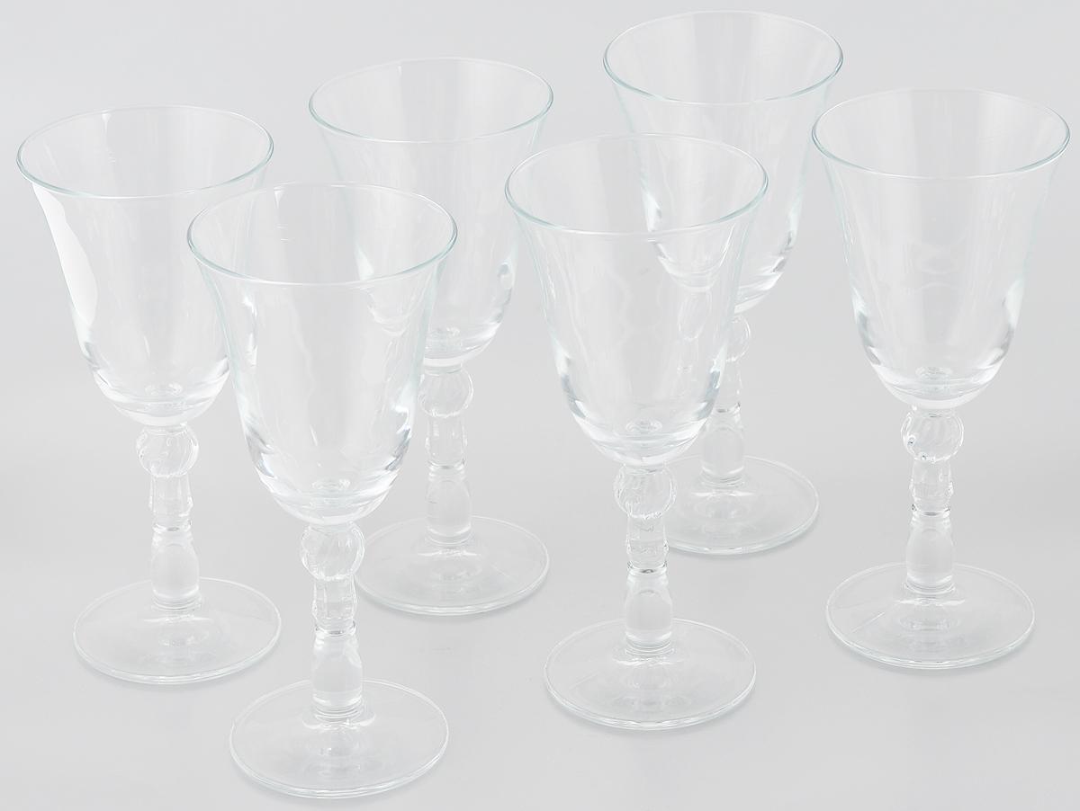 Набор фужеров Pasabahce Porto, 240 мл, 6 шт440097Набор Pasabahce Porto состоит из 6 фужеров на высоких ножках. Изделия выполнены из прочного натрий-кальций- силикатного стекла. Такие фужеры прекрасно подойдут для шампанского, красного и белого вина. Изящные фужеры классического дизайна великолепно украсят праздничный стол и порадуют вас и ваших гостей оригинальной формой и качеством исполнения. Можно мыть в посудомоечной машине. Диаметр фужера (по верхнему краю): 8,5 см. Высота фужера: 19,3 см. Диаметр основания: 7,5 см.