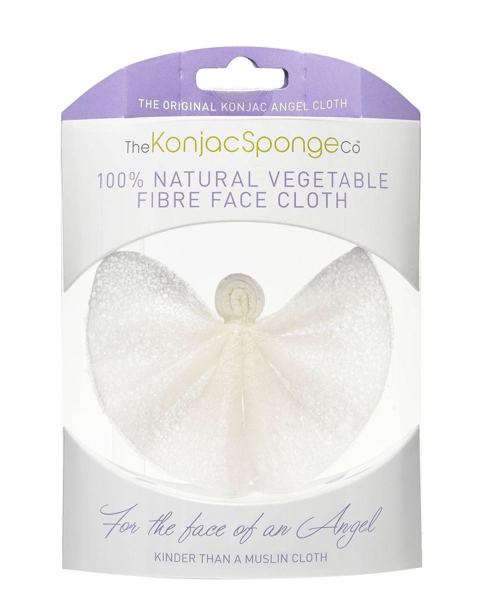 The Konjac Sponge Co Спонж для лица и тела Angel Cloth801667Полностью натуральный спонж из растительной клетчатки для умывания лица и мытья тела. Не содержит химикатов, красителей, аллергенов. На 100% биоразлагаемый. Используется во влажном состоянии. Диаметр – ок. 10 см (без учета упаковки).