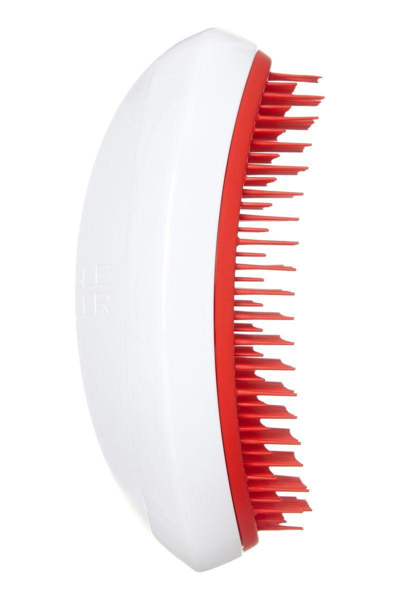 Tangle Teezer Расческа для волос Salon Elite Christmas White/Red373924Tangle Teezer – оригинальная профессиональная расческа для расчесывания волос, которая позволит вам с легкостью всего за одну минуту без рывков и напряжения расчесать мокрые, уязвимые или окрашенные волосы не нарушая структуру волос и не причиняя себе дискомфорта.