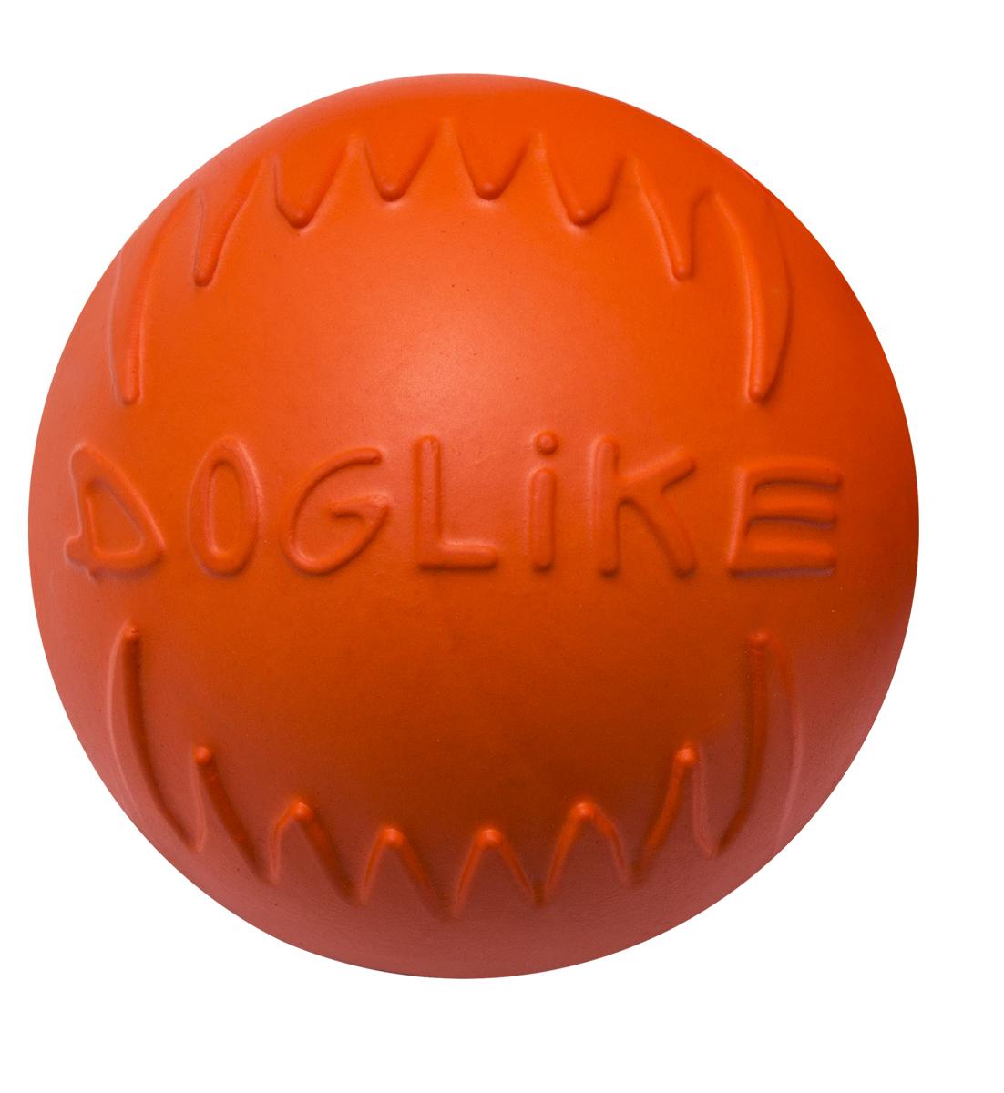 Игрушка для животных Doglike Мяч, диаметр 10 смDM-7343Сохраняет эластичность -50 +50,Усиленная формула материала,Не тонет в воде,Безопасно для зубов собаки,Экологически чистый материал,Производство Россия