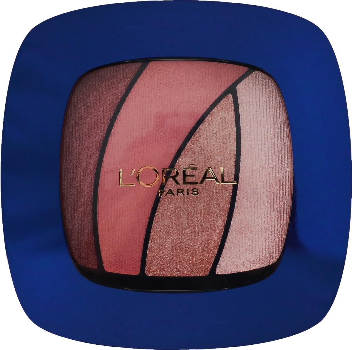 LOreal Paris Тени для век Color Riche Quadro. Red Carpet, оттенок S10 Розовый Сапфир, 30 гA8628200L'Oreal Paris представляет лимитированную коллекцию макияжа, вдохновленную красной ковровой дорожкой. Сногсшибательная звездная коллекция в эксклюзивном дизайне и соблазнительных оттенках. Тени Квадро Color Riche - ваш персональный визажист. Формула нового поколения: идеальная пропорция пигментов и перламутровых частиц для достижения насыщенного и яркого розового цвета. Инновационный двусторонний аппликатор для профессионального нанесения: традиционная кисточка для растушевки базовых цветов, углообразная кисточка для создания эффекта подводки. Стойкость 12 часов.