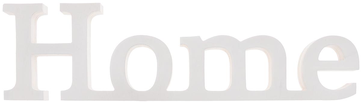 Табличка декоративная Magellanno Home2, цвет: белый, 48 х 13 смFS-91909Декоративная табличка Magellanno Home2, выполненная из фанеры, идеально подойдет к интерьерам в стиле лофт, прованс, шебби-шик, тем самым украсив любую комнату в вашем доме.Именно такие уютные и приятные мелочи позволяют называть пространство, ограниченное четырьмя стенами, домом.Размер таблички: 48 х 13 см.Толщина таблички: 1,8 см.