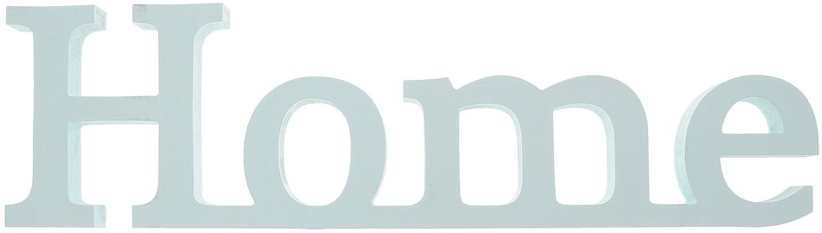 Табличка декоративная Magellanno Home2, цвет: бирюзовый, 48 х 13 смDEC005TДекоративная табличка Magellanno Home2, выполненная из фанеры, идеально подойдет к интерьерам в стиле лофт, прованс, шебби-шик, тем самым украсив любую комнату в вашем доме. Именно такие уютные и приятные мелочи позволяют называть пространство, ограниченное четырьмя стенами, домом. Размер таблички: 48 х 13 см. Толщина таблички: 1,8 см.