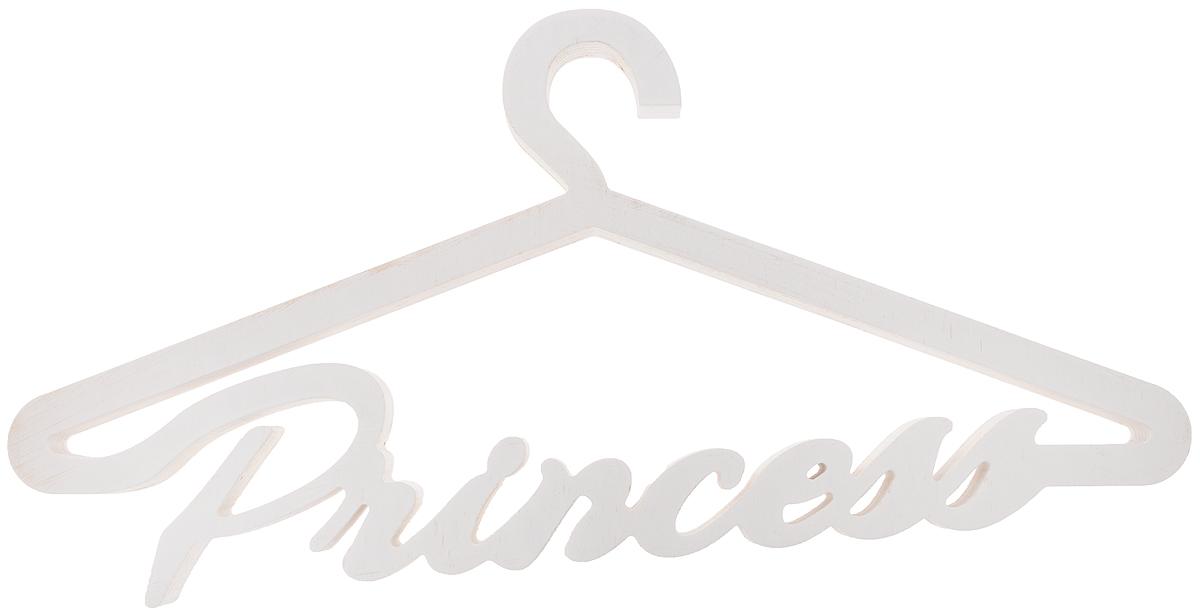 Вешалка для одежды Magellanno Princess, декоративная, цвет: белый, 46 х 22 смDEC015WДекоративная вешалка для одежды Magellanno Princess, выполненная из фанеры, идеально подойдет к интерьерам в стиле лофт, прованс, шебби-шик, тем самым украсив любую комнату в вашем доме. Именно такие уютные и приятные мелочи позволяют называть пространство, ограниченное четырьмя стенами, домом. Размер вешалки: 46 х 22 см. Толщина вешалки: 1,8 см.