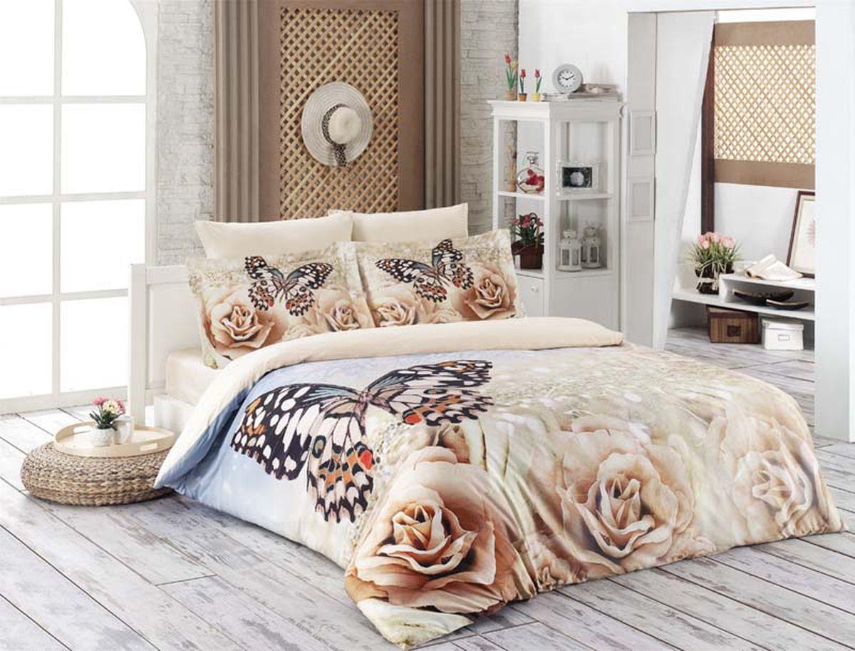 Комплект белья Karna Romantic, 2-спальный, наволочки 50х70460/7Постельное белье Karna Romantic - истинный подарок от великих мастеров, знающих свое дело. Это красота и роскошь. Это стиль и уют в спальне. Комплект выполнен из сатина (100 % хлопка) и состоит из пододеяльника, четырех наволочек и простыни. Karna - это постельное белье для ценителей красоты и удобства.