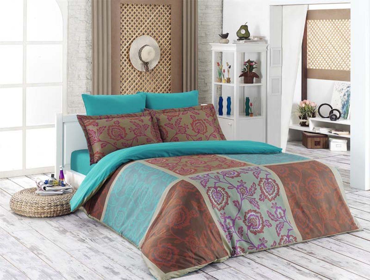Комплект белья Karna Minsu, 1,5-спальный, наволочки 50х70461/13Постельное белье Karna Minsu - истинный подарок от великих мастеров, знающих свое дело. Это красота и роскошь. Это стиль и уют в спальне. Комплект выполнен из сатина (100 % хлопка) и состоит из пододеяльника, двух наволочек и простыни. Karna - это постельное белье для ценителей красоты и удобства.