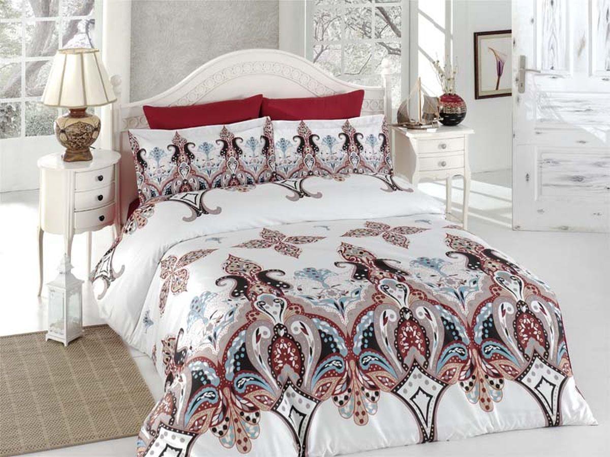 Комплект белья Karna Eplika, 1,5-спальный, наволочки 50х70461/9Постельное белье Карна - истинный подарок от великих мастеров, знающих свое дело. Это красота и роскошь. Это стиль и уют в спальне. Karna - это постельное белье для ценителей красоты и удобства.