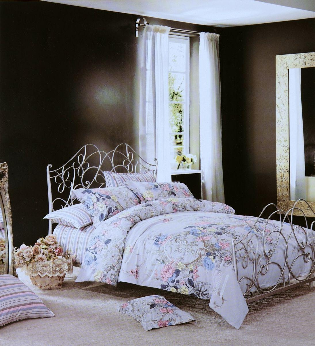 Комплект белья Modalin Rozsi, 2-спальный, наволочки 50х70, 70x70. 464/7464/7