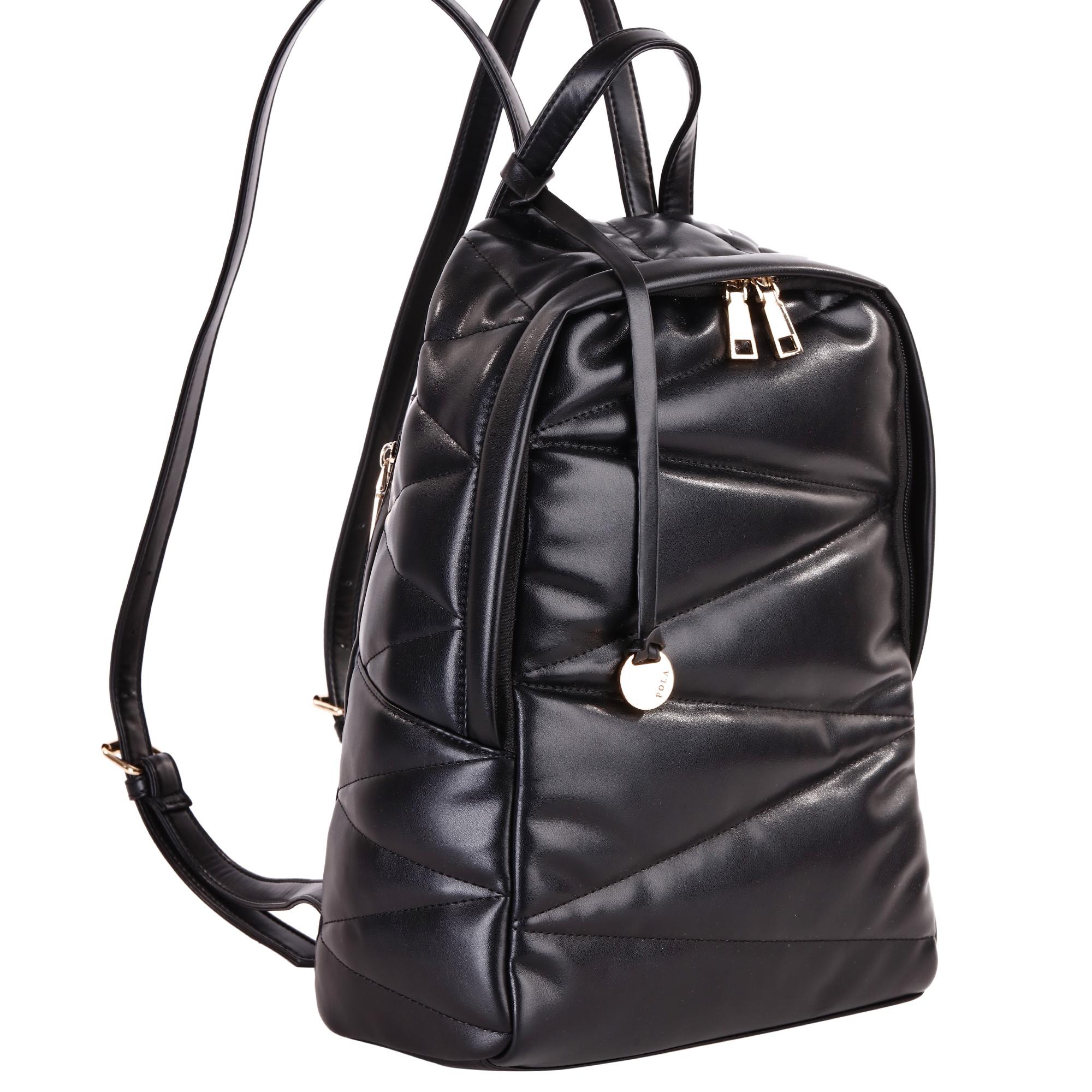Рюкзак женский Pola, цвет: черный. 4411