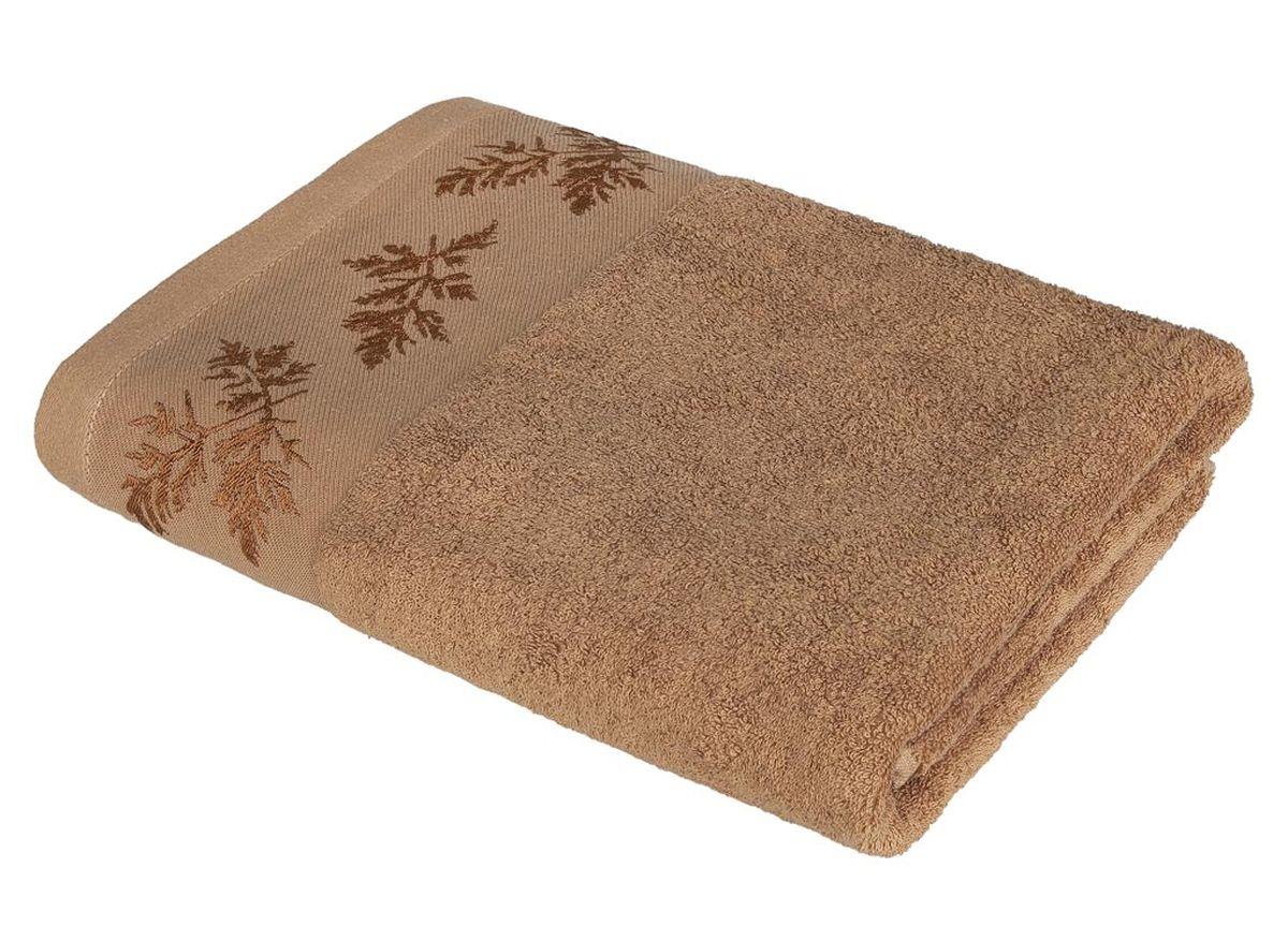 Полотенце Soavita Катрин, цвет: коричневый, 68 х 135 см86296Махровое полотенце Soavita Катрин выполнено из хлопка. Полотенца используются для протирки различных поверхностей, также широко применяются в быту. Перед использованием постирать при температуре не выше 40 градусов. Размер полотенца: 68 х 135 см.