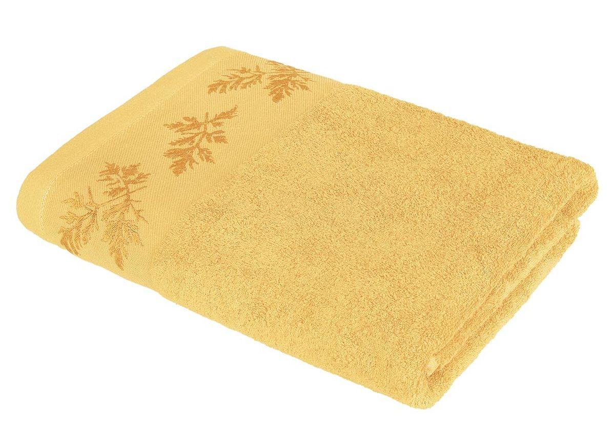 Полотенце Soavita Катрин, цвет: медовый, 68 х 135 см86297Махровое полотенце Soavita Катрин выполнено из хлопка. Полотенца используются для протирки различных поверхностей, также широко применяются в быту. Перед использованием постирать при температуре не выше 40 градусов. Размер полотенца: 68 х 135 см.