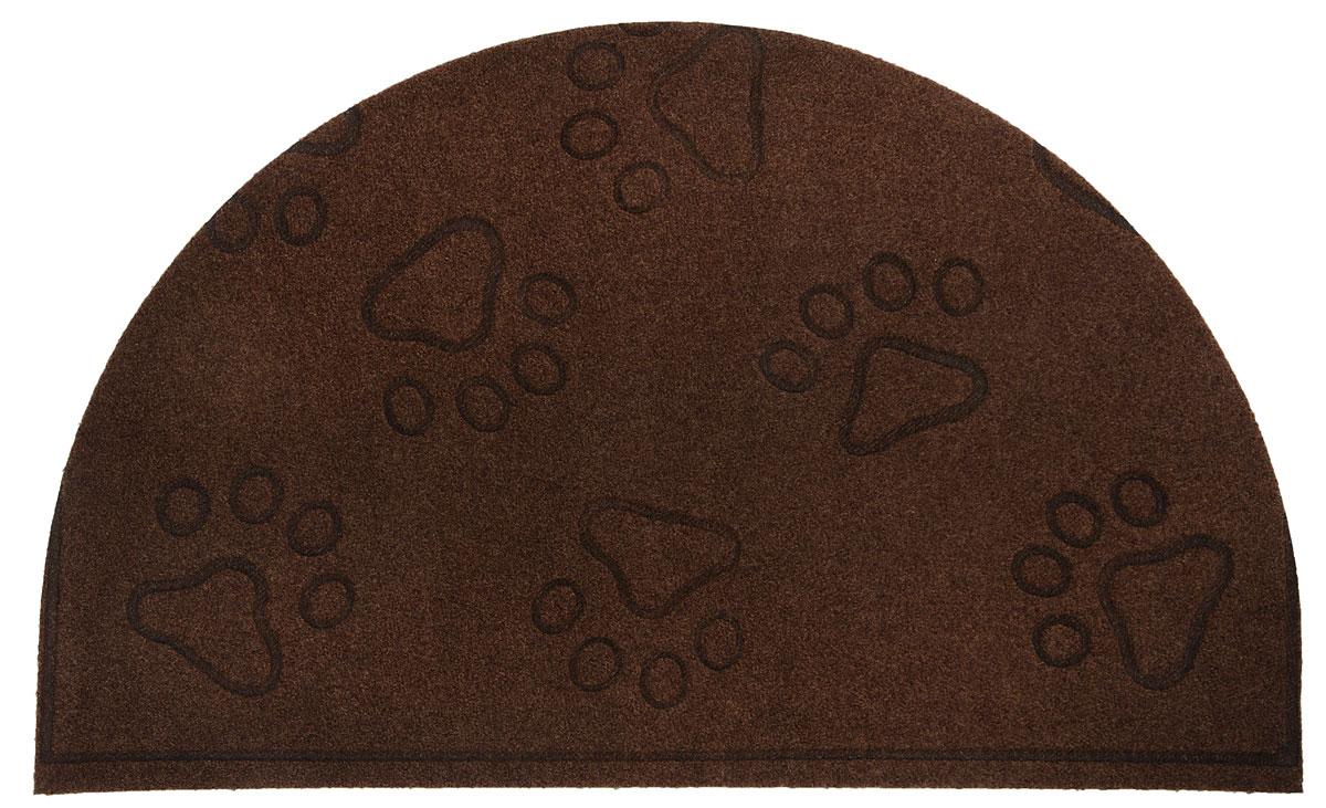 Коврик придверный EFCO Оскар. Лапы, цвет: коричневый,65 х 40 см10503Оригинальный придверный коврик EFCO Оскар. Лапы надежно защитит помещение от уличной пыли и грязи. Изделие выполнено из 100% полипропилена, основа - латекс. Такой коврик сохранит привлекательный внешний вид на долгое время, а благодаря латексной основе, он легко чистится и моется.