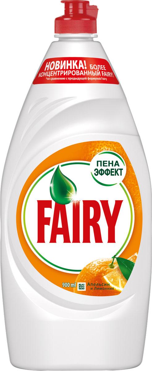 Средство для мытья посуды Fairy Апельсин и лимонник, 900 млFR-81573194Всего одна капля нового, более концентрированного Fairy сможет отмыть целый горы грязной посуды. Тарелки, стаканы, кастрюли и сковородки - формула Fairy с легкостью удалит даже самые сложные загрязнения с любой поверхности без особых усилий. А еще с Fairy Вы экономите, так как его хватает в 2 раза больше. Выберите свой аромат: Сочный Лимон, Апельсин и Лимонник, Зеленое Яблоко в размерах в ассортименте. В 2 раза больше чистой посуды. Новинка - более концентрированный Fairy Попробуйте новинку Fairy для ручного мытья посуды. Новая, более концентрированная формула с Пена-Эффектом глубоко проникает в жир и расщепляет его изнутри, позволяя отмыть до 2х раз больше посуды. А активные компоненты настолько эффективны, что запросто растворят жир даже в холодной воде. Fairy - безопасный продукт, разработанный в европейском научно исследовательском центре (Brussels Innovation Centre) и полностью соответствующий ГОСТу РФ, и полностью смывается с посуды. Основные преимущества: • Отмывает в 2 раза...