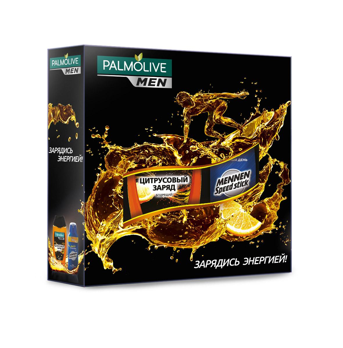 Подарочный набор Palmolive Men Заряд Энергии
