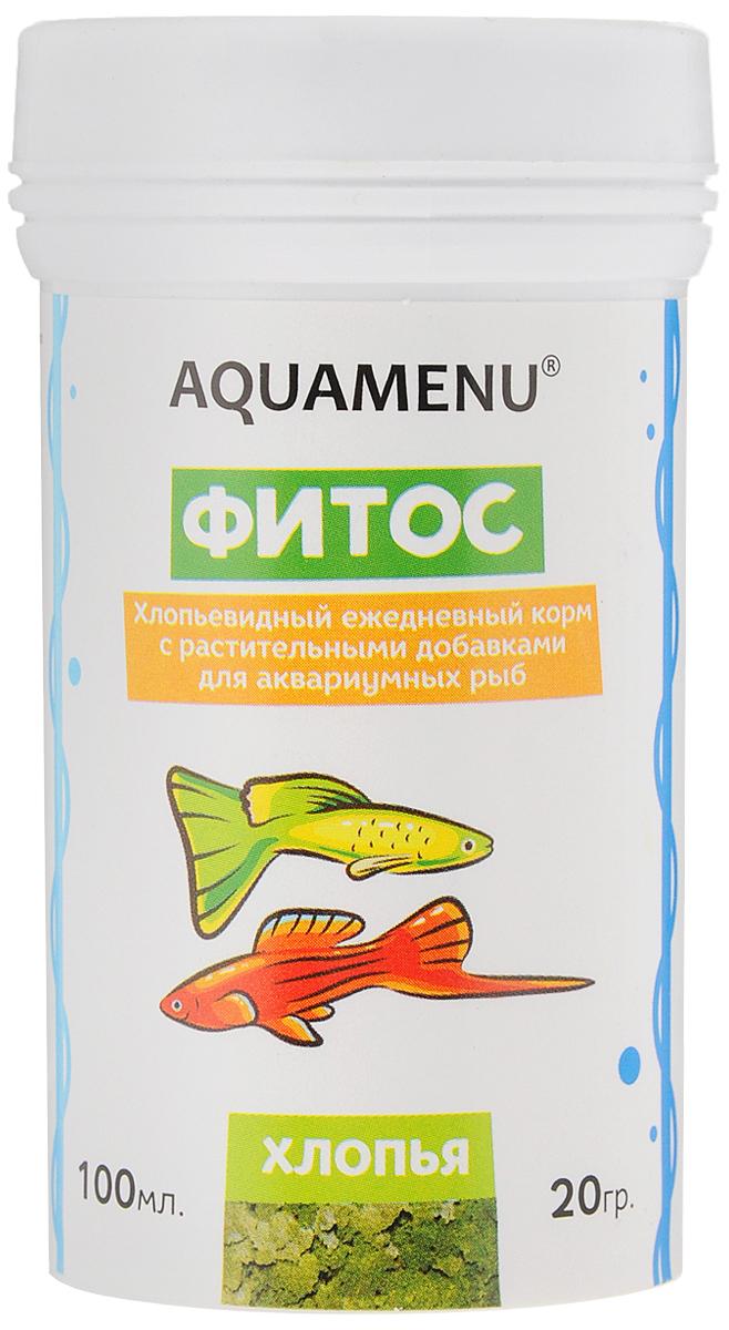 Корм Aquamenu Фитос для аквариумных рыб, с растительными добавками, 100 мл (20 г)00000001138Хлопьевидный корм Aquamenu Фитос предназначен для ежедневного кормления большинства видов аквариумных рыб. Корм производится по современной технологии из натуральных продуктов животного и растительного происхождения методом инфракрасной сушки. Связующие ингредиенты делают корм более экзотичным, ограничивая вымывание питательных веществ, аминокислот и витаминов во время пребывания в воде. Aquamenu Фитос предназначен для ежедневного кормления следующих видов рыб: живородящие карпозубые (гуппи, меченосцы, пециллии и др.), растительноядные африканские цихлиды (трофеусы, псевдотрофеусы, меланохромисы и др.) и сомы (анциструсы, лорикарии и др.). Корм рекомендуется в качестве дополнительного корма и для других видов рыб. Состав: рыбная, пшеничная, соевая, травяная и водорослевая мука, крапива, микроэлементы, витамины A, B1, B2, B3, B4, B5, B6, B7, B8, B12, C, D3, E, K, H и специальные добавки. Товар сертифицирован.