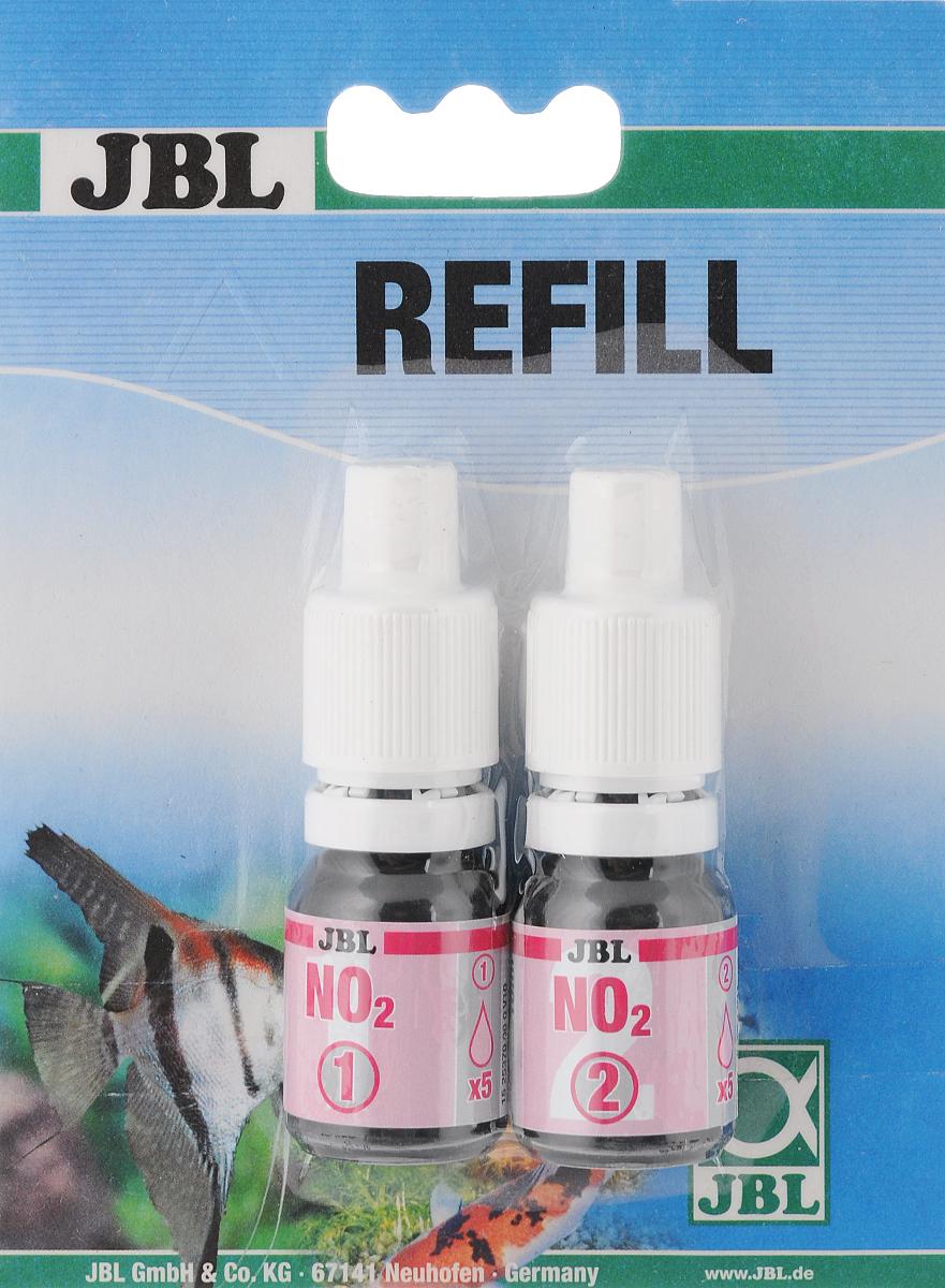 Реагенты JBL Nitrit Reagens, для комплекта JBL Nitrit Test-Set NO2, 2 штJBL2537100Реагенты на определение содержания нитритов в пресной и морской воде JBL Nitrit Reagens предназначены для комплекта JBL Nitrit Test-Set NO2. Рекомендуемое максимальное значение: 0,1 мг/л нитритов в пресной воде. Реагенты рассчитаны на 50 измерений. Диапазон измерений от 0,025 до 1,0 мг/л. Комплектация: 2 шт. Объем реагентов: 10 мл.