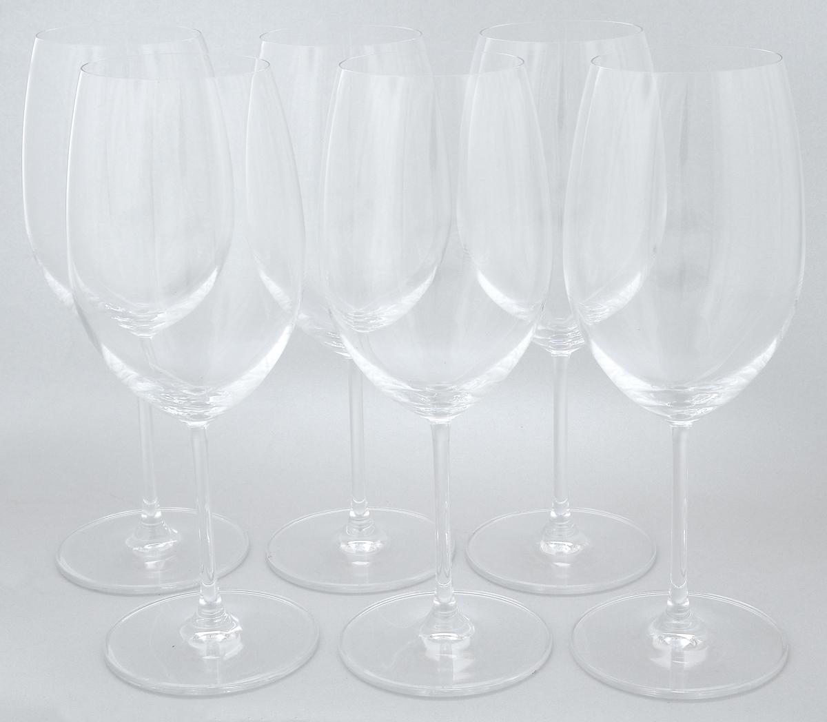 Набор бокалов Pasabahce Vintage, 600 мл, 6 шт66125NНабор Pasabahce Vintage состоит из шести бокалов, выполненных из прочного натрий-кальций-силикатного стекла. Изделия оснащены высокими ножками. Бокалы предназначены для подачи вина. Они сочетают в себе элегантный дизайн и функциональность. Благодаря такому набору пить напитки будет еще вкуснее. Набор бокалов Pasabahce Vintage прекрасно оформит праздничный стол и создаст приятную атмосферу за романтическим ужином. Такой набор также станет хорошим подарком к любому случаю. Можно мыть в посудомоечной машине и использовать в холодильнике. Диаметр бокала по верхнему краю: 6,8 см. Высота бокала: 24 см.