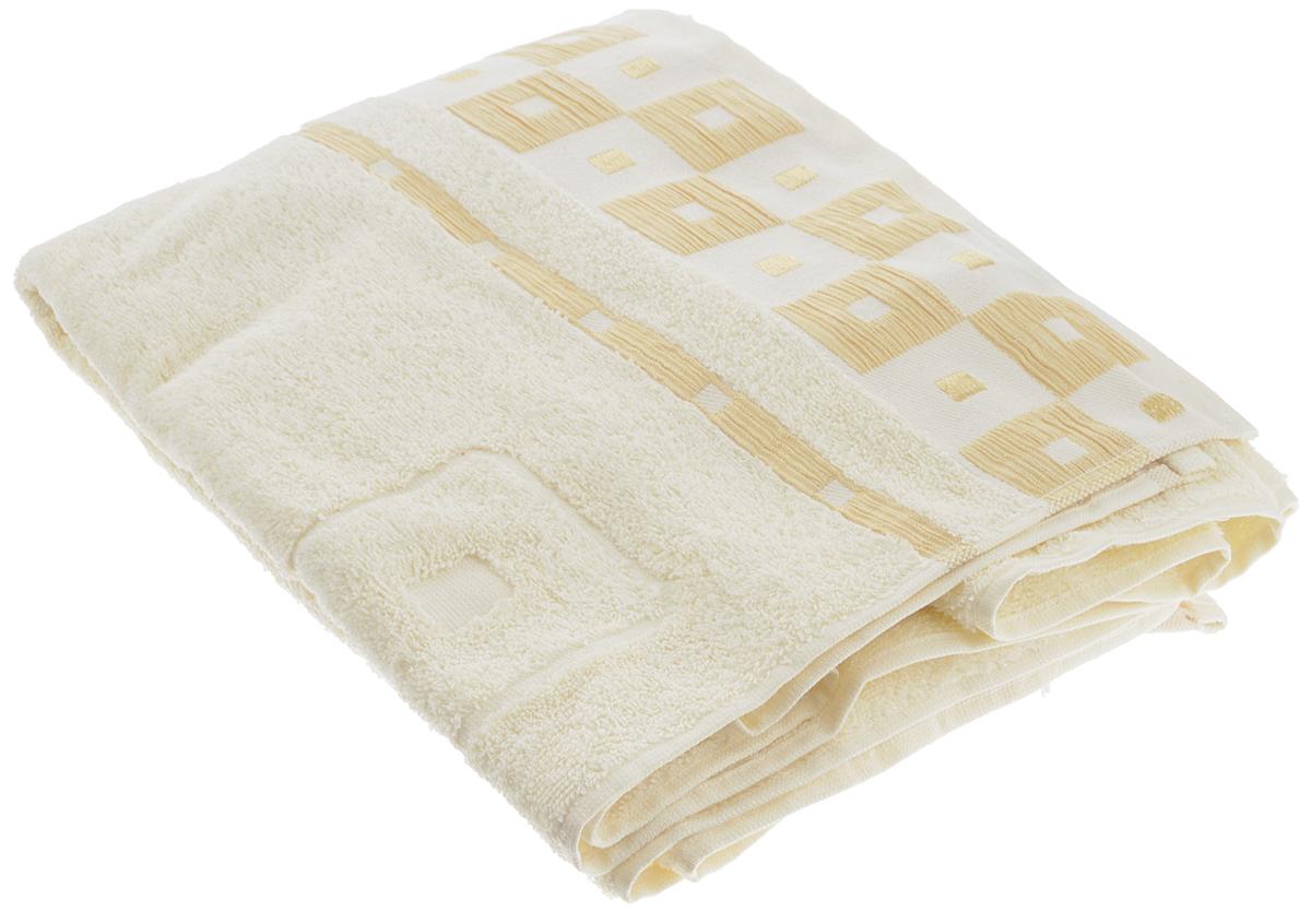 Полотенце Aisha Home Textile, цвет: слоновая кость, 50 х 90 смУзТ-ПМ-112-09-29кПолотенце Aisha Home Textile выполнено из 100% хлопка. Изделие отлично впитывает влагу, быстро сохнет, сохраняет яркость цвета и не теряет форму даже после многократных стирок. Такое полотенце очень практично и неприхотливо в уходе. Оно создаст прекрасное настроение и украсит интерьер в ванной комнате. Полотенце упаковано в красивую коробку и может послужит отличной идеей подарка.