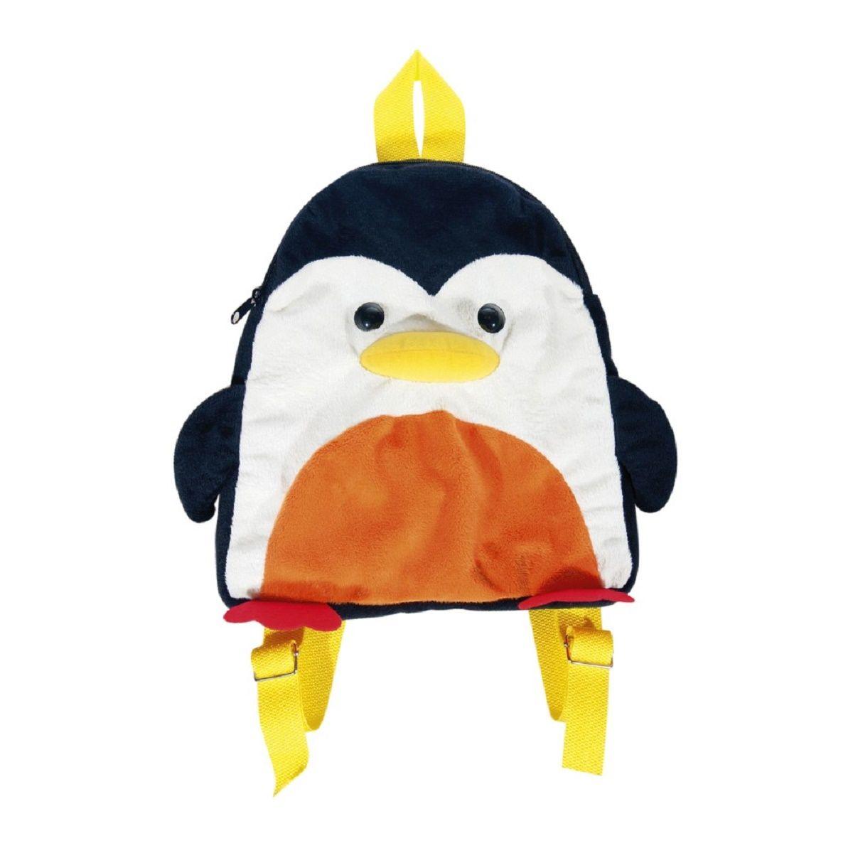 Fancy Мягкая игрушка-рюкзак ПингвинCRCB-RT2-880Детская сумка-рюкзак