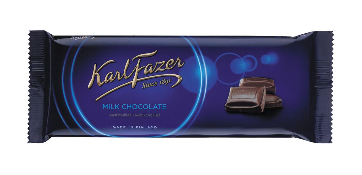 Karl Fazer Молочный шоколад, 100 г5784Молочный шоколад Karl Fazer изготовлен из свежего молока и ингредиентов самого высокого качества. Это позволяет создавать особый вкус молочного шоколада, который ценится во многих странах мира. Очень вкусное и нежное лакомство, которое понравится всей вашей семье. Уважаемые клиенты! Обращаем ваше внимание, что полный перечень состава продукта представлен на дополнительном изображении.