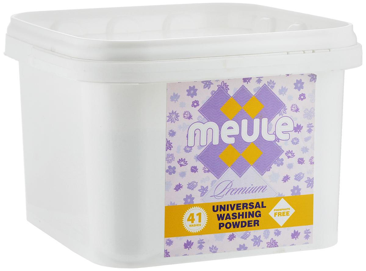 Порошок стиральный Meule Premium, концентрат, 1,5 кг7290104930577Универсальный бесфосфатный концентрированный стиральный порошок высокого качества Meule Premium подходит для всех типов стиральных машин. Предназначен для белых и цветных тканей, изделий из хлопка, льна и синтетики. Отстирывает пятна и загрязнения различного происхождения, сохраняя структуру ткани. Препятствует образованию ворсистости (катышков) на одежде. Предотвращает образование накипи. Полностью выполаскивается. Работает в широком диапазоне температур (от +30°С до +90°С). Упаковка стирального порошка, при полной загрузке стиральной машины (5 кг), рассчитана на 41 стирку. Состав: Товар сертифицирован.