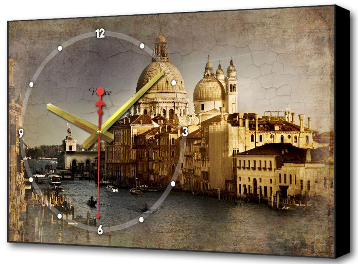Часы-картина Toplight Классика, 60 х 37 см. TL-C5014300194_сиреневый/грушаНастенные часы-картина Toplight Классика выполнены из бумаги и оргалита, рама из МДФ. Часы имеют кварцевый механизм с плавным, бесшумным ходом и три стрелки: часовую, минутную и секундную. Современные технологии и цифровая печать, используемые в производстве, делают постер устойчивым к выцветанию и обеспечивают исключительное качество произведений. Благодаря наличию необходимых креплений в комплекте установка не займет много времени. Часы-картина Toplight - это прекрасная возможность создать яркий акцент при оформлении любого помещения.Правила ухода: можно протирать сухой, мягкой тканью. Часы работают от 1 батарейки типа АА (не входит в комплект).