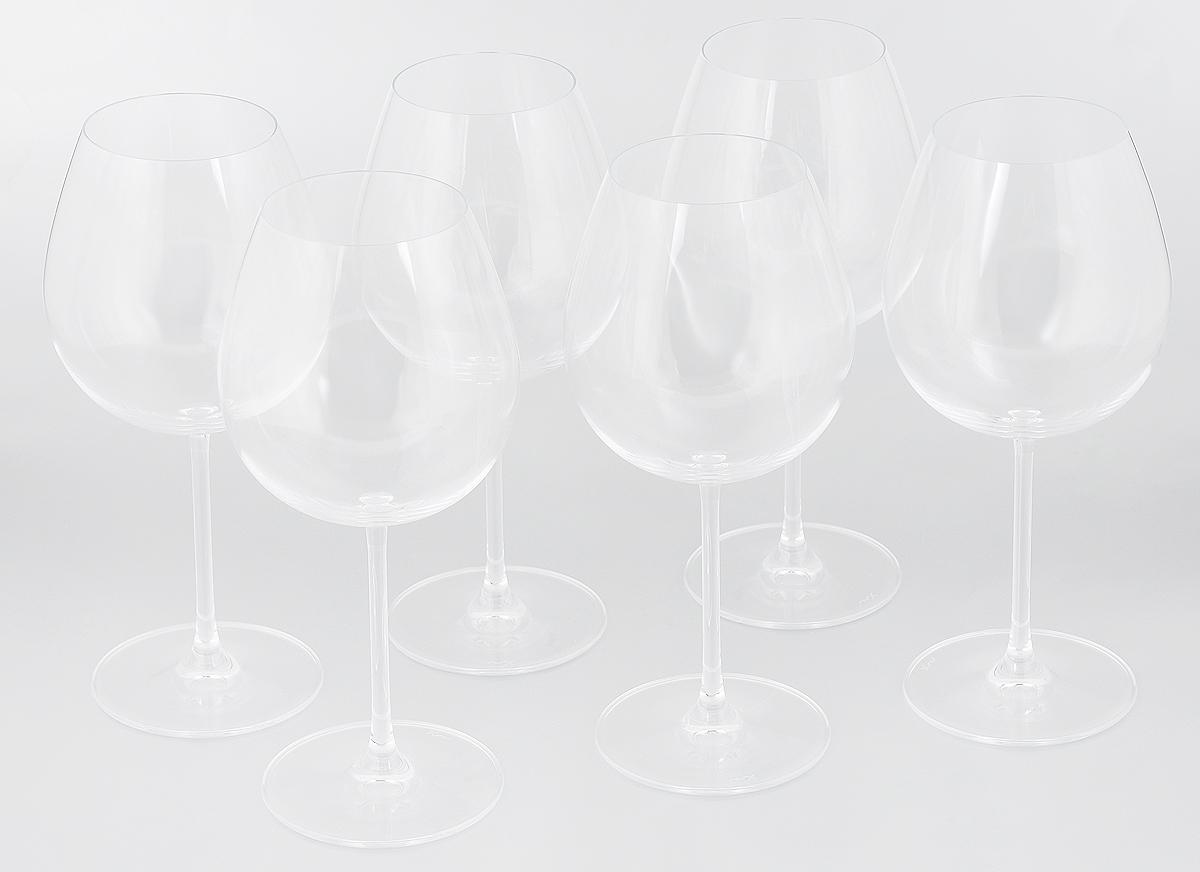 Набор бокалов для вина Pasabahce Vintage , 690 мл, 6 шт66126NНабор Pasabahce Vintage, выполненный из бессвинцового стекла, состоит из шести бокалов. Изделия предназначены для подачи вина. Они сочетают в себе элегантный дизайн и функциональность. Набор бокалов Pasabahce Vintage прекрасно оформит праздничный стол и создаст приятную атмосферу за романтическим ужином. Такой набор также станет хорошим подарком к любому случаю. Можно мыть в посудомоечной машине. Диаметр бокала (по верхнему краю): 7 см. Высота бокала: 23 см.