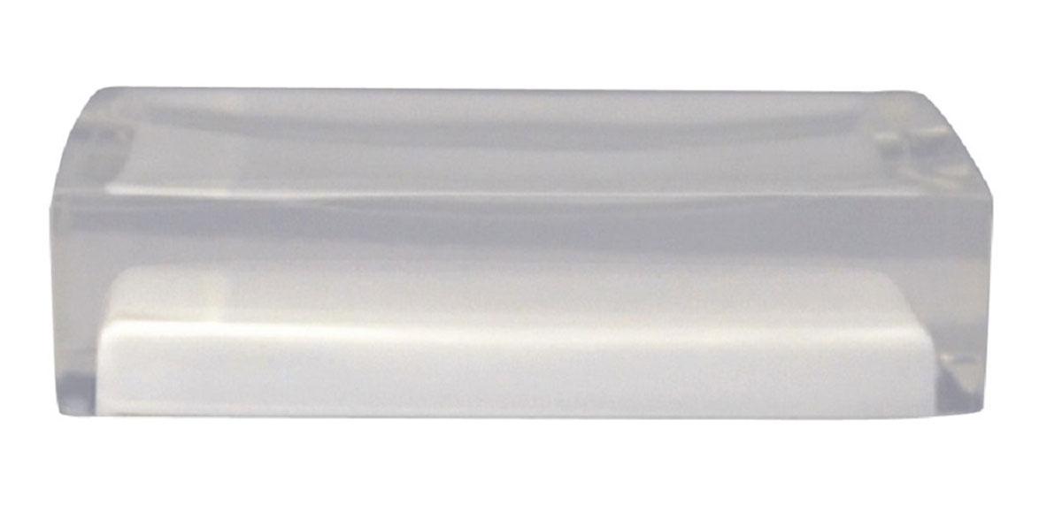 Мыльница Ridder Colours, цвет: белый22280301Изделия данной серии устойчивы к ультрафиолету, т.к. изготавливаются из полирезины. Экологичная полирезина - это твердый многокомпонентный материал на основе синтетической смолы, с добавлением каменной крошки и красящих пигментов.