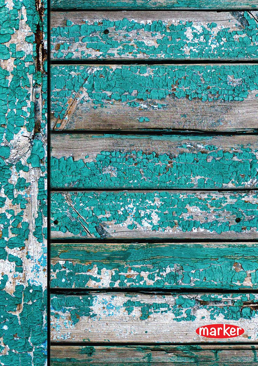 Marker Тетрадь Дрова 100 листов в клетку цвет голубойM-1180510N-3Тетрадь на спирали Marker Дрова отлично подойдет для различных записей. Дизайнерская обложка выполнена из высококачественного картона. Внутренний блок состоит из 100 листов в клетку.