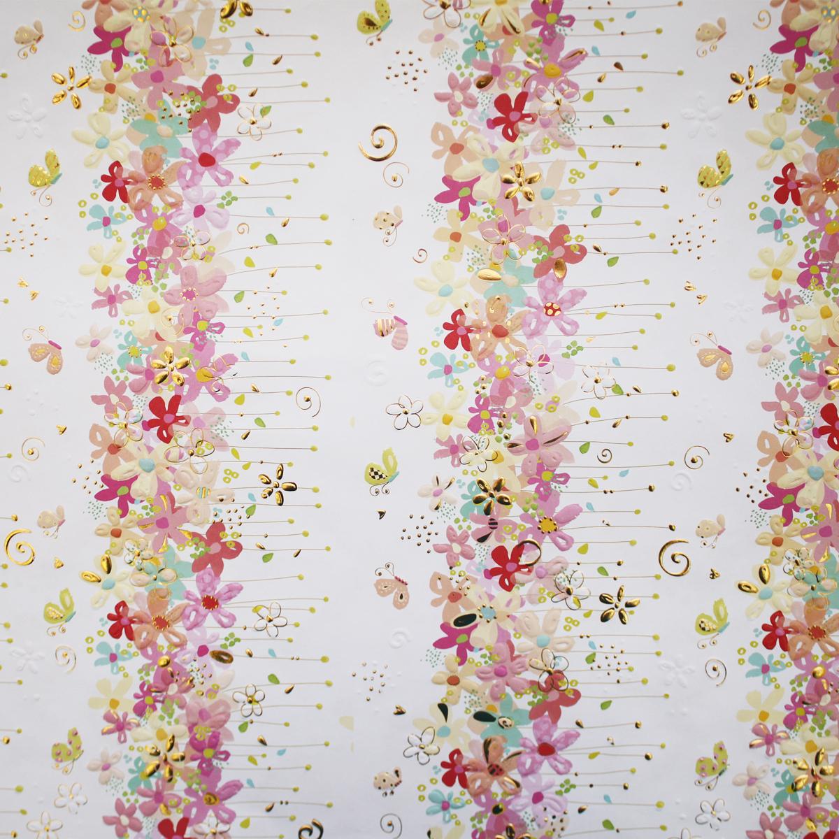 Бумага для скрапбукинга Renkalik Turnowsky. Цветочки, 50 х 70 смKOC_GIR288LEDBALL_RБумага Renkalik, оформленная красочными изображениями, поможет вам начать творческий путь в скрапбукинге. Эта бумага хорошо подойдет для оформления фона, создания открыток, поделок и многого другого. Скрапбукинг - это хобби, которое способно приносить массу приятных эмоций не только человеку, который этим занимается, но и его близким, друзьям, родным. Это невероятно увлекательное занятие, которое поможет вам сохранить наиболее памятные и яркие моменты вашей жизни, а также интересно оформить интерьер дома.