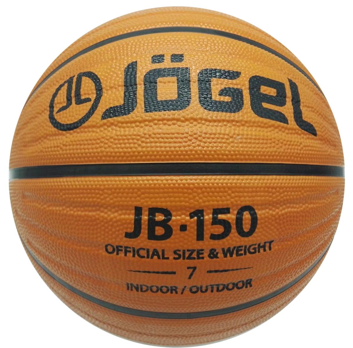Мяч баскетбольный Jogel, цвет: коричневый. Размер 7. JB-150УТ-00009272Название: Мяч баскетбольный Jgel JB-150 №7 Уровень: Тренировочный мяч Категория: INDOOR/OUTDOOR Описание: Jogel JB-150 №7 это резиновый баскетбольный мяч, с тремя дополнительными каналами на каждой панели, уникальная модель на российском рынке! Благодаря сочетанию технологий DeepChannel (глубокие каналы) и Wave Triple Threat Technology (тройные волнообразные каналы), достигается максимальный контроль мяча во время броска и дриблинга. Поверхность мяча выполнена из износостойкой резины, благодаря чему данным мячом можно играть практически на любой поверхности, как на улице, так и в зале. Размер №7 предназначается для мужчин и юношей от 17 лет, официальный размер для соревнований мужских команд. Данный мяч рекомендован для любительской игры, тренировок любительских команд и команд среднего уровня. Данный мяч прекрасно подходит для поставок на гос. тендеры, образовательные учреждения и спортивные секции. Официальный размер и вес FIBA. Рекомендованные покрытия: Паркет, резина, бетон,...