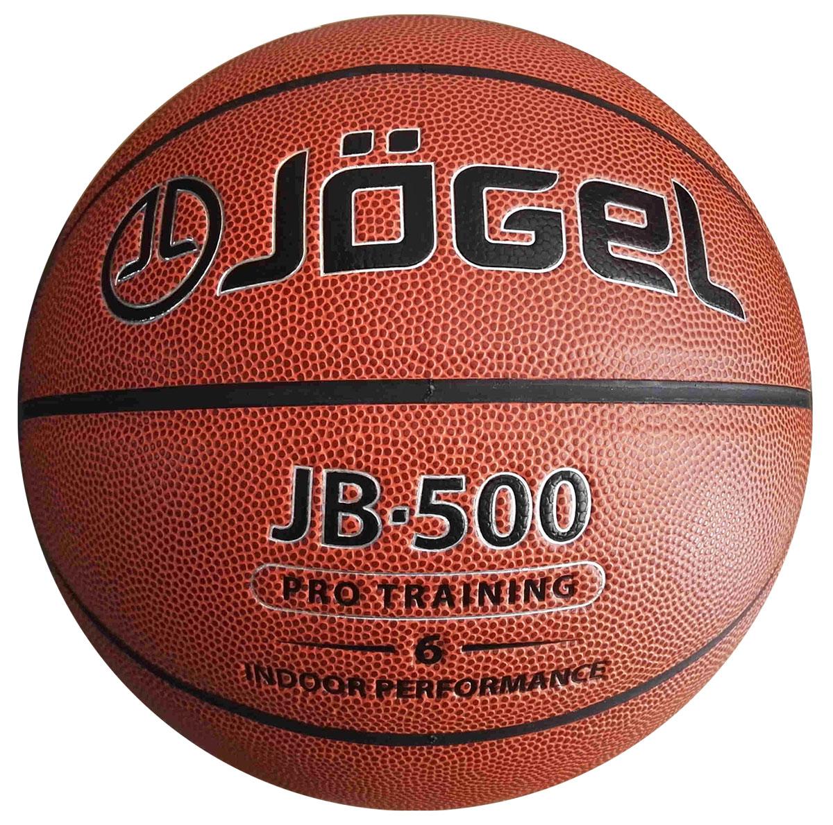 Мяч баскетбольный Jogel, цвет: коричневый. Размер 6. JB-500УТ-00009329Название: Мяч баскетбольный Jgel JB-500 №6 Уровень: Тренировочно-игровой мяч Серия: PRO TRAINING Категория: INDOOR Описание: Jogel JB-500 №6 . Благодаря технологии DeepChannel (глубокие каналы), используемой при производстве мячей Jogel, достигается лучший контроля мяча во время броска и дриблинга. Размер №6 предназначается для женщин и юношей от 12 до 16 лет. Данный мяч рекомендован для тренировок команд среднего и высокого уровня, а также соревнований любительских и средних команд. Данный мяч прекрасно подходит для поставок на гос. тендеры, образовательные учреждения и спортивные секции. Официальный размер и вес FIBA. Рекомендованные покрытия: Паркет Материал поверхности: Синтетическая кожа (полиуретан) Материал камеры: Бутил Тип соединения панелей: Клееный Количество панелей: 8 Размер: 6 Вес: 510-567 гр. Длина окружности: 72-74 см Рекомендованное давление: 0.5-0.6 бар Количество в коробке: 24 шт. Основной цвет: Коричневый Дополнительный цвет: Черный Бренд: Jogel Страна...